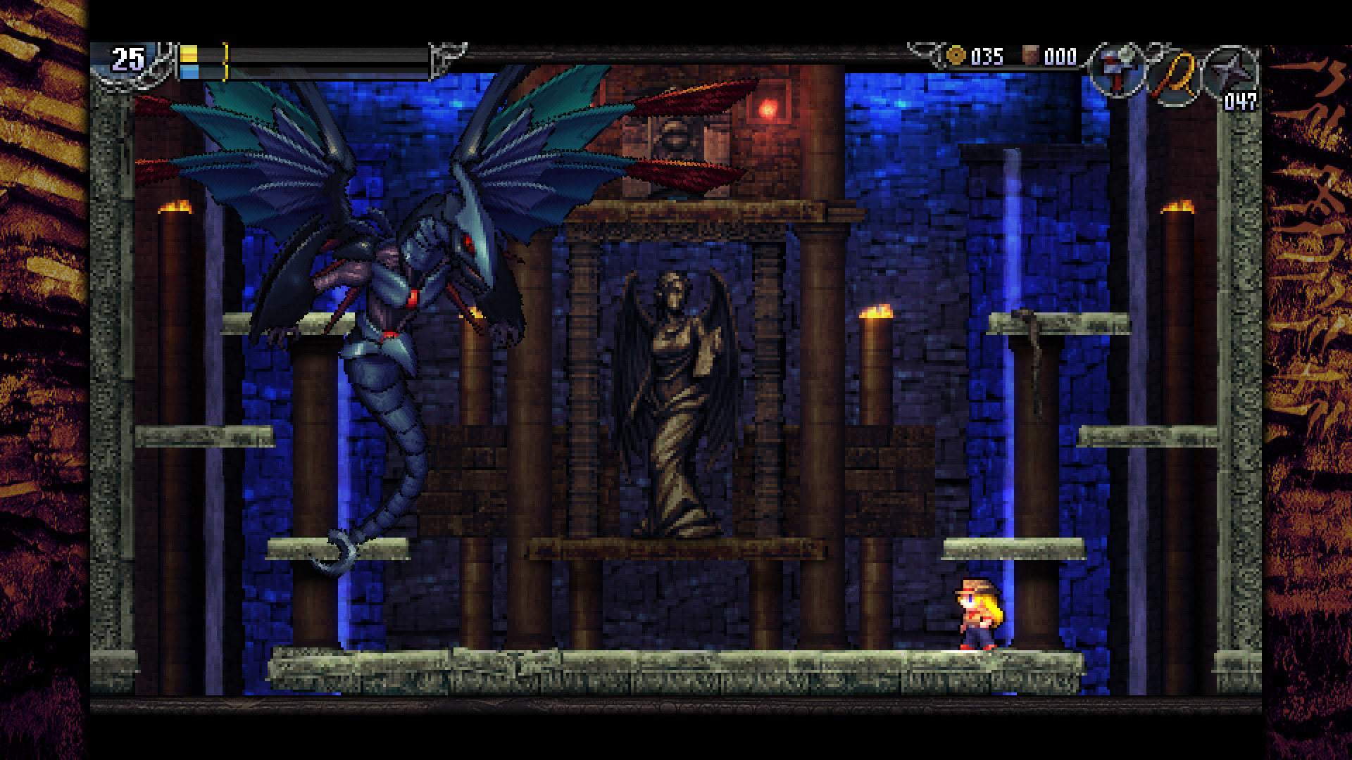 La-Mulana 2: How To Get The Double-Jump Feather Early | Treasure Guide