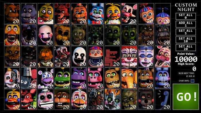 Ultimate Custom Night: All Easter Eggs & Unlockables | Secrets Guide