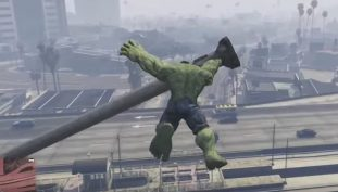Hulk Smash Into GTA V With This New Mod