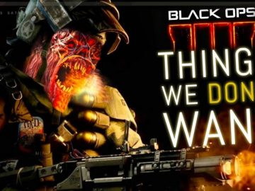 Black Ops 4: Things We DON'T WANT