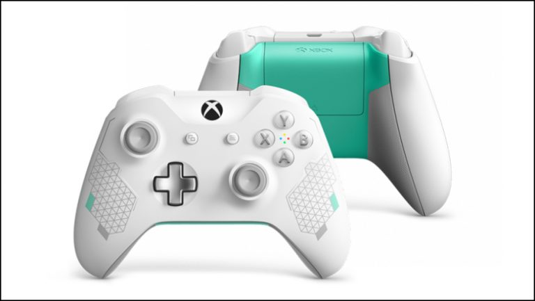 Xbox One Sport White Controller Revealed