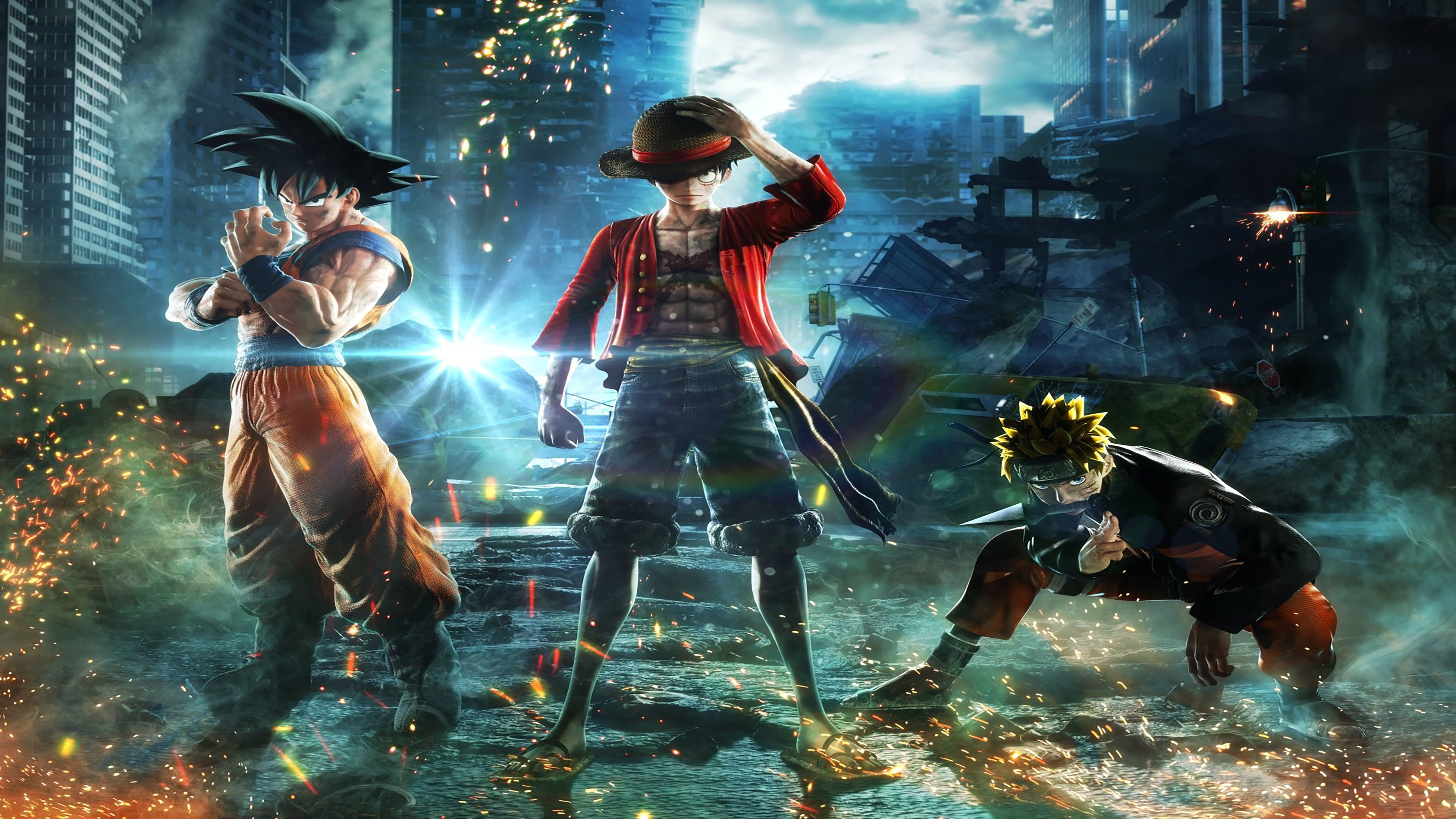10 Best Gaming Wallpaper Hd 1920x1080 Full Hd 1080p For Pc: Jump Force Wallpapers In Ultra HD