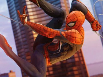 spider-man, open world trailer