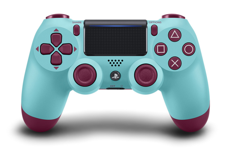 Four New Colourful Ps4 S Dualshock 4 Controller Designs