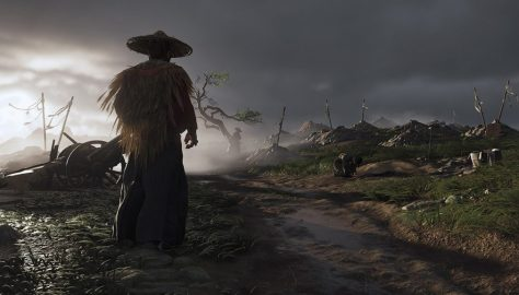 Ghost-of-Tsushima-720P-Wallpaper
