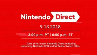 Watch The September 2018 Nintendo Direct Livestream