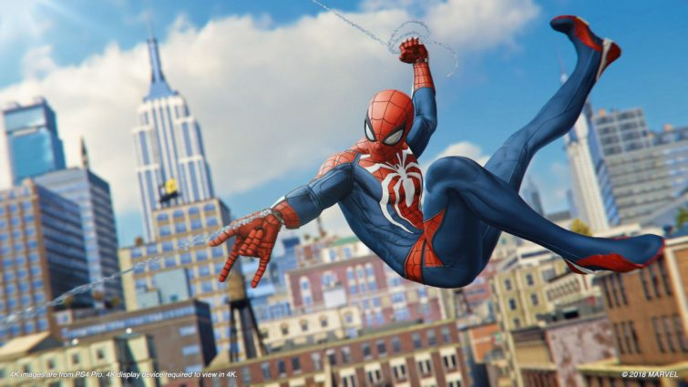 PlayStation Blog Details the Most Downloaded Games of September, 2018; Marvel's Spider-Man Takes the Number One Spot