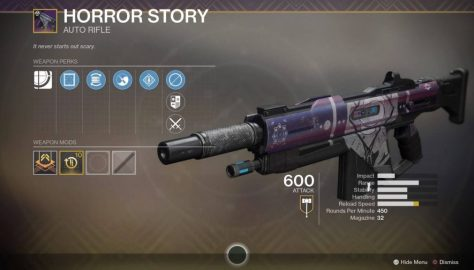 Destiny 2: Festival of the Lost – How To Get The Horror Story Exotic Auto Rifle | PL 600+ Gear Guide