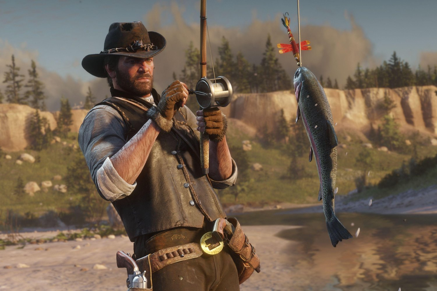 Red Dead Redemption 2: Where To Find The Legendary Fishing