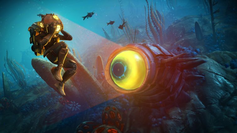 No Man's Sky: The Abyss Update Now Live on All Platforms; Brings New Underwater Exploration and More
