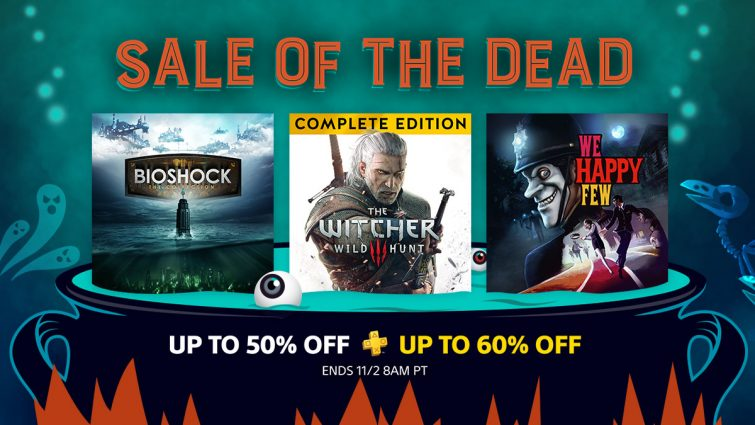 PlayStation Sale of the Dead Announced; Includes The Witcher 3, Bioshock Collection and Much More, Full List of Games Detailed