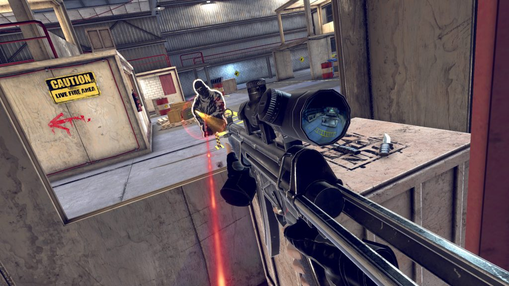 First Person Shooter Gun Club Vr Coming To Playstation Vr Later This