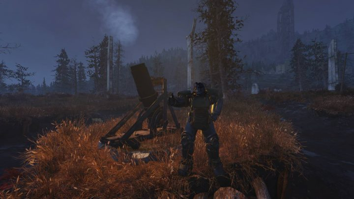 Fallout 76: Nuke Everything With The CAMP Artillery