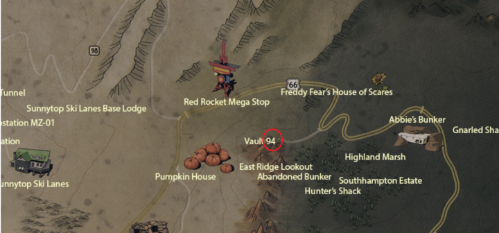 Fallout 76: Where To Find All The Vaults | Vault 63, 94 & 96