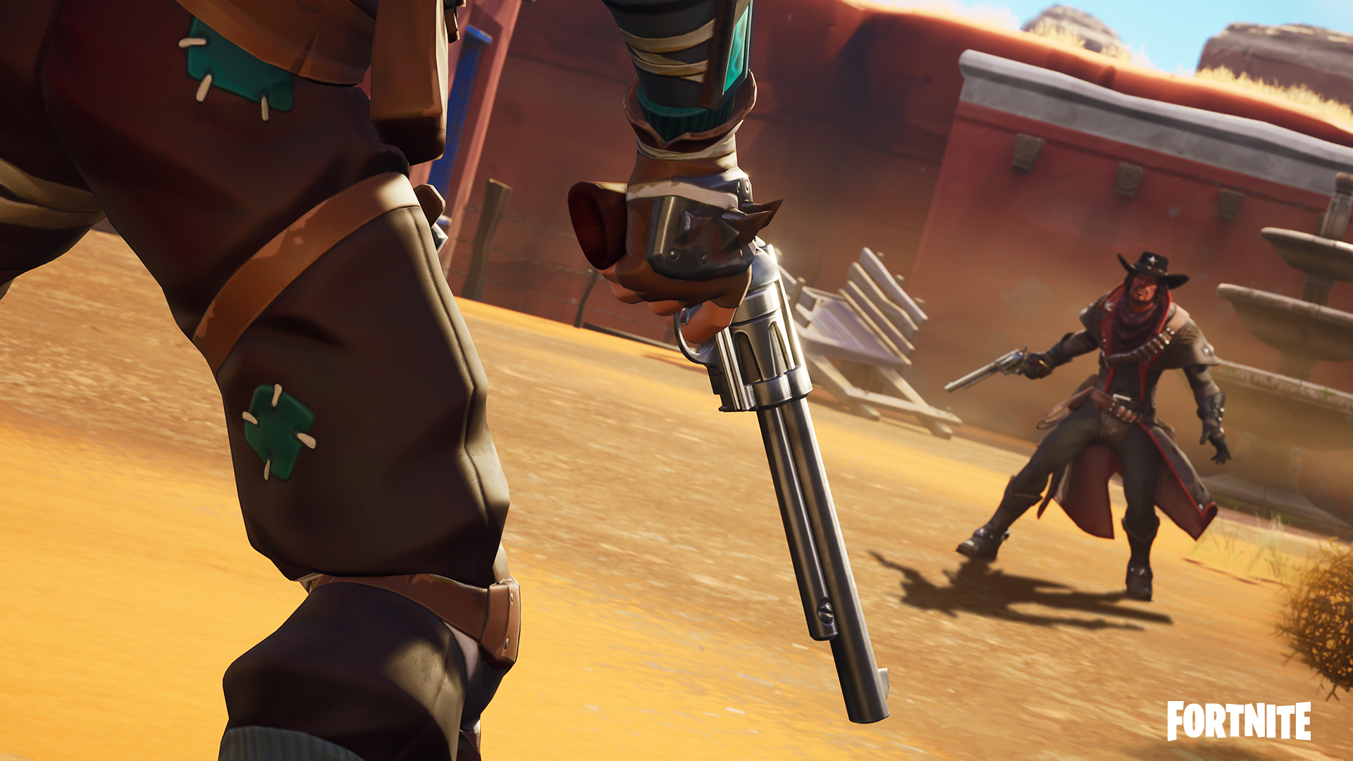 fortnite update v6 30 brings wild west limited time mode new weapon and more full patch notes detailed gameranx - fortnite stability patch