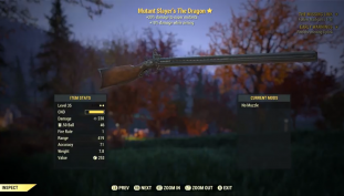 Fallout 76: How To Get The Dragon Four-Barreled Rifle | New Weapon Guide