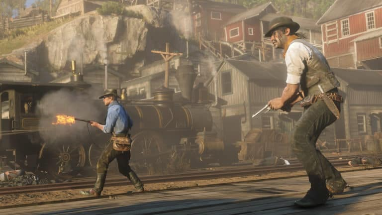 Red Dead Redemption 2 Update Fixes Missing Companions in Camp, Weapons, and Much More