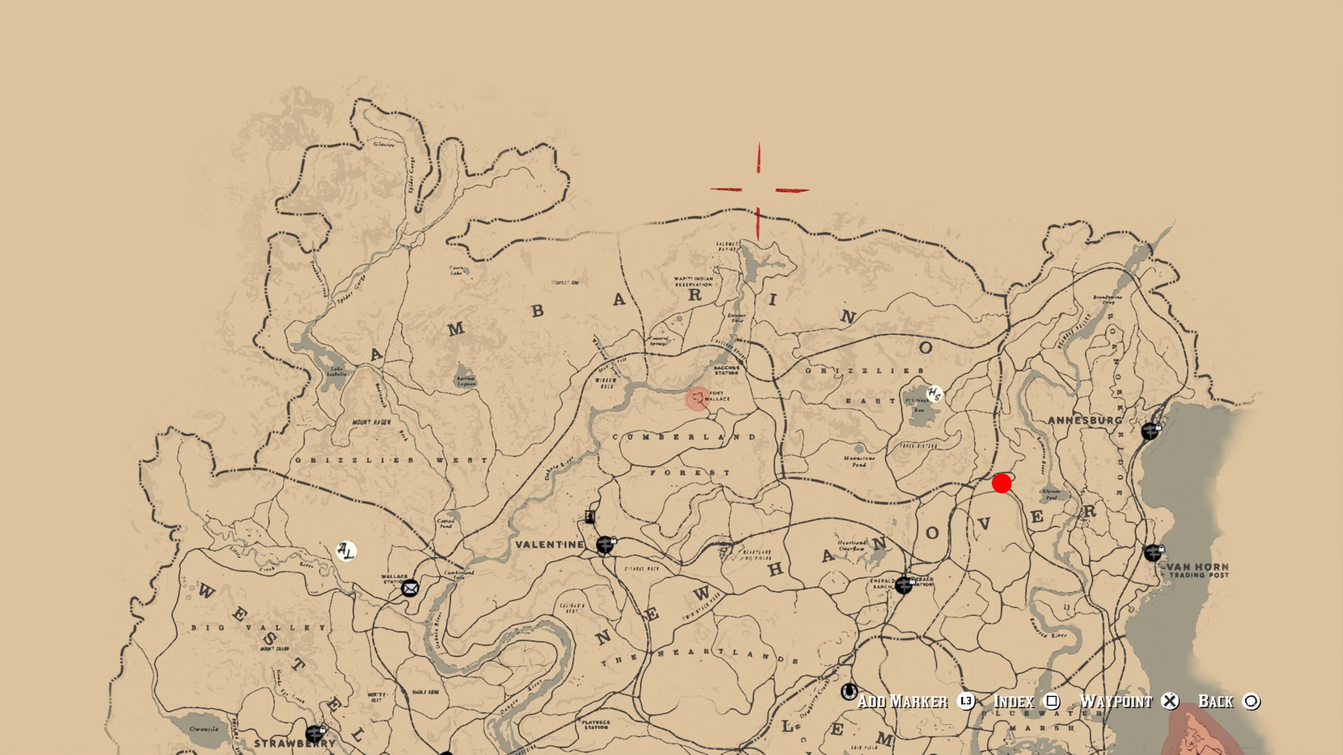 red dead redemption trapper locations