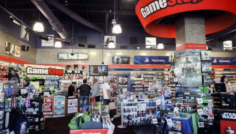 Inside A GameStop Corp. Store Ahead Of Earnings Figures