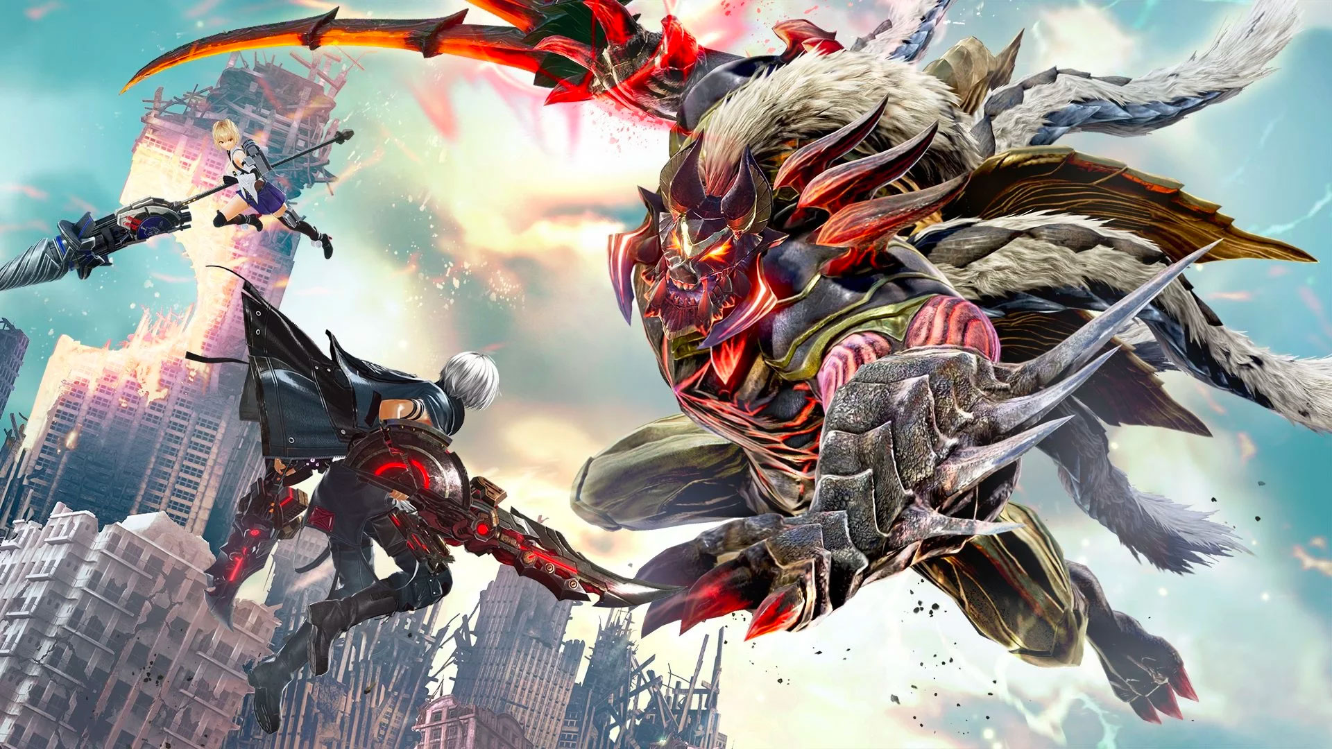 God Eater 3 Wallpapers In Ultra Hd 4k Gameranx