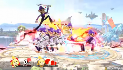 Super Smash Bros. Ultimate: How To Summon An Infinite Army Of Waluigis | Isabelle Glitch Guide