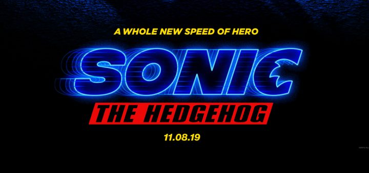 First Sonic The Hedgehog Live Action Motion Movie Poster Revealed