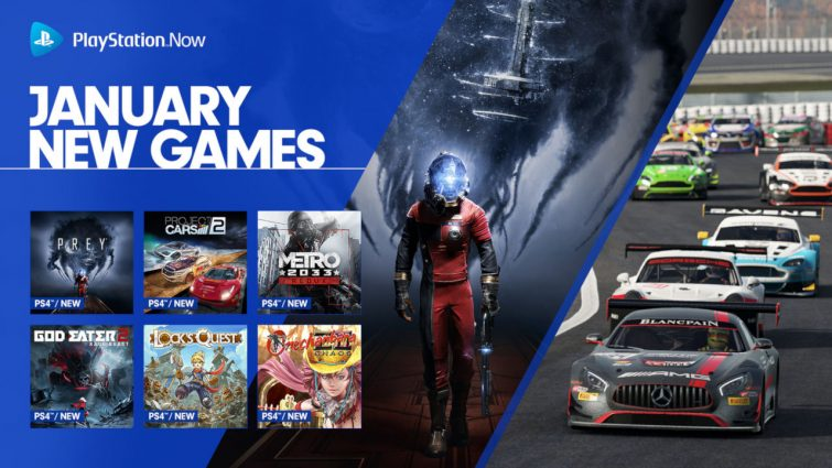 PlayStation Adds Nine New Games to PSNow; Prey and Metro 2033 Headline