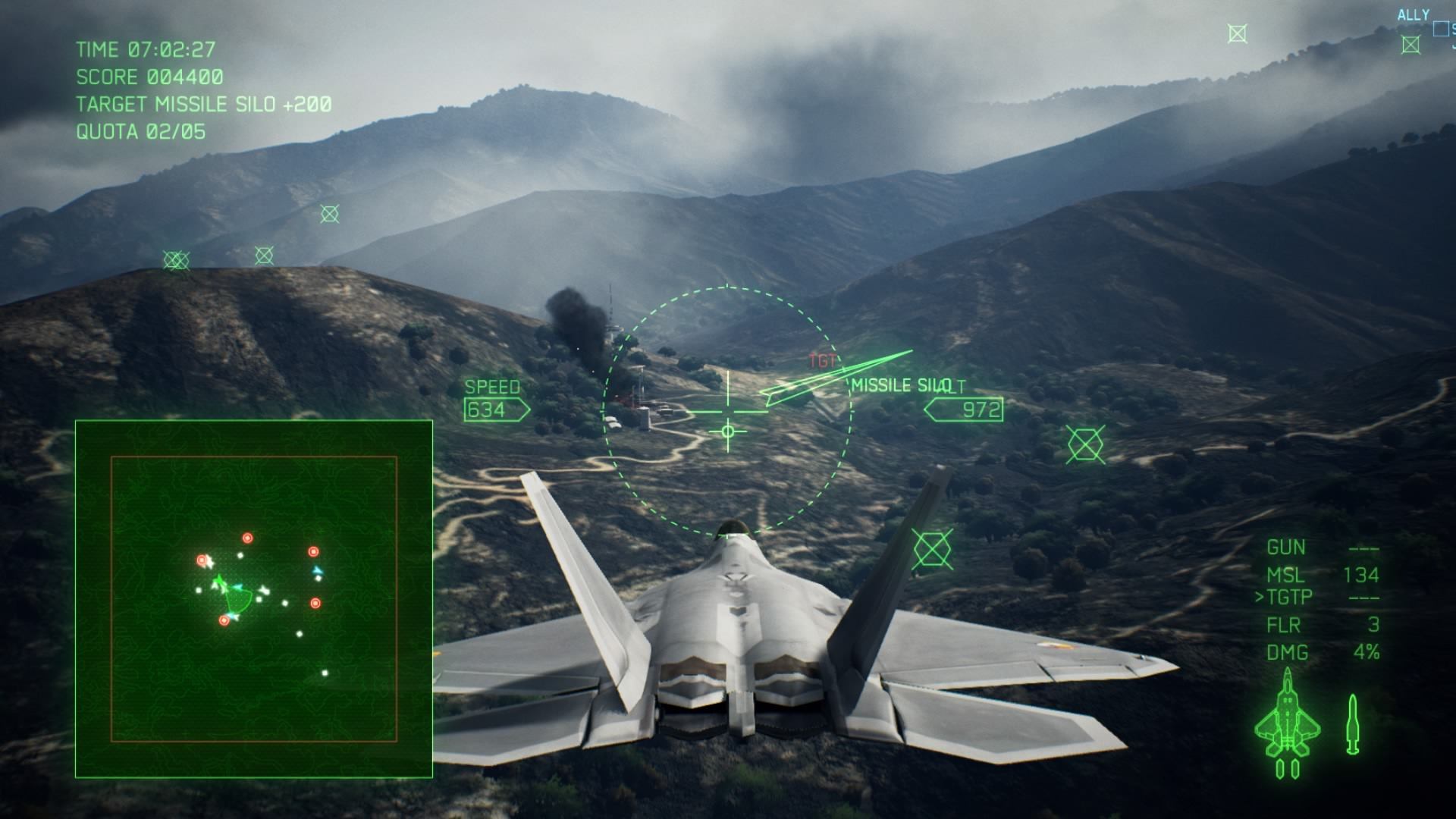 Ace Combat 7: Skies Unknown - How To Find 5 'True' Bunkers