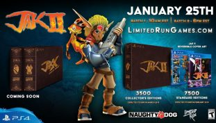 Limited Run Games Reveals Jak And Daxter 2 Collector's Edition