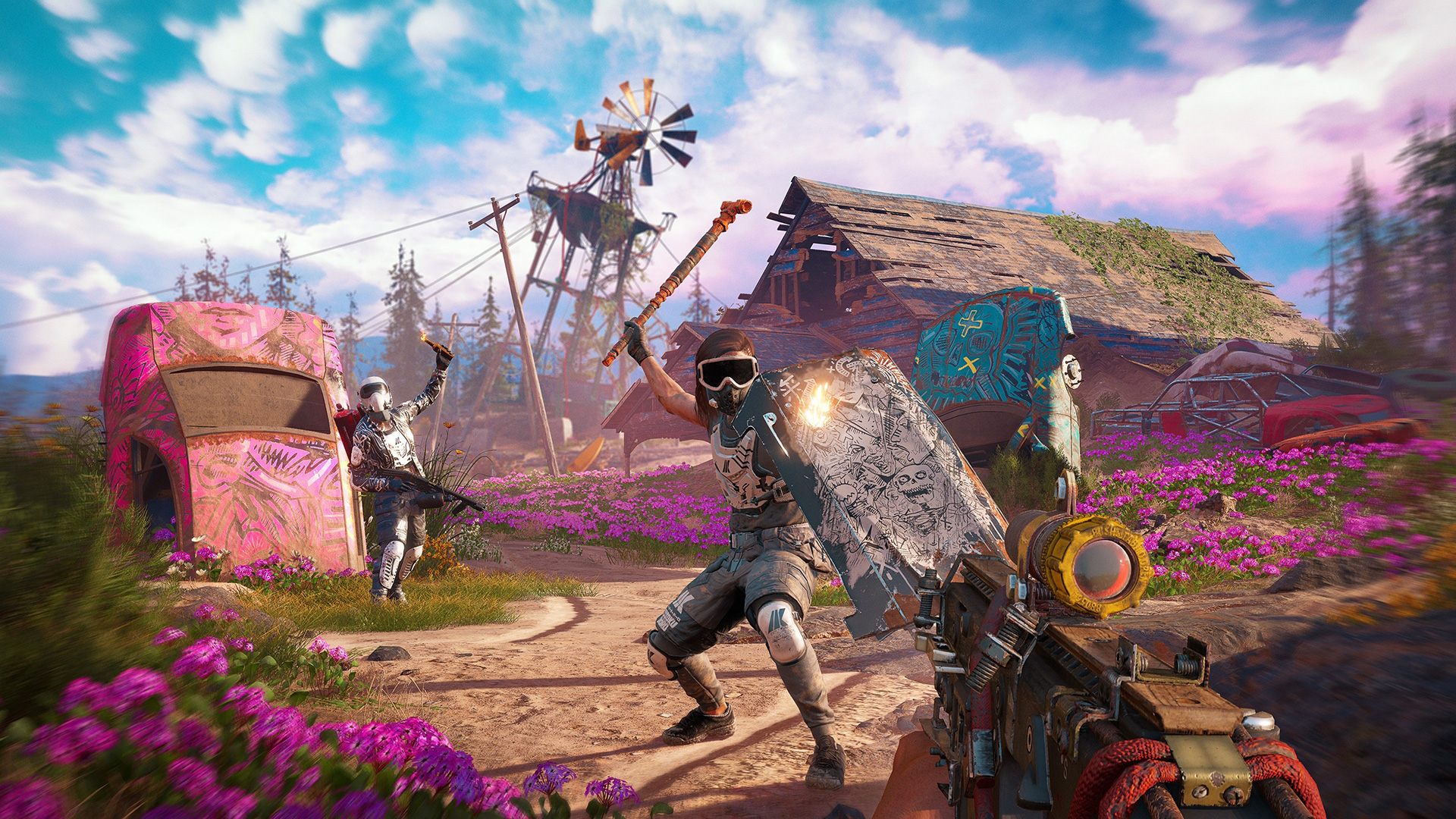 Far Cry New Dawn Wallpapers In Ultra Hd 4k Gameranx