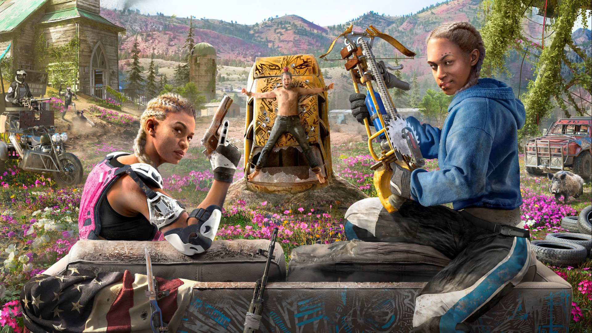 Ubisoft Reveals How Much Storage Far Cry New Dawn Will Require