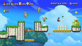 New Super Mario Bros. U Deluxe Launch Trailer Released, Game Now Available for Nintendo Switch