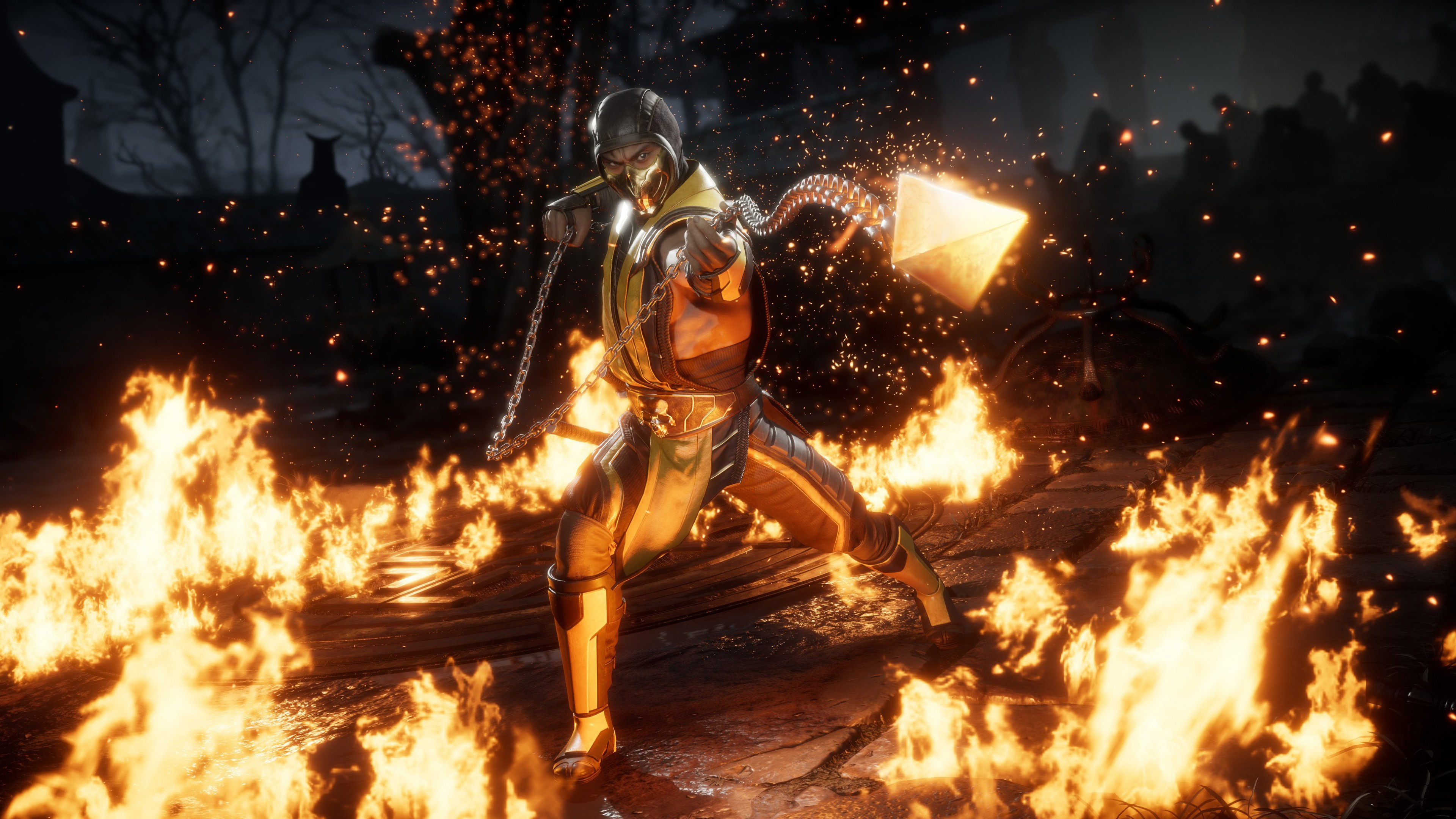 Mortal kombat 11 wallpapers in ultra hd 4k gameranx - Mortal kombat scorpion wallpaper ...