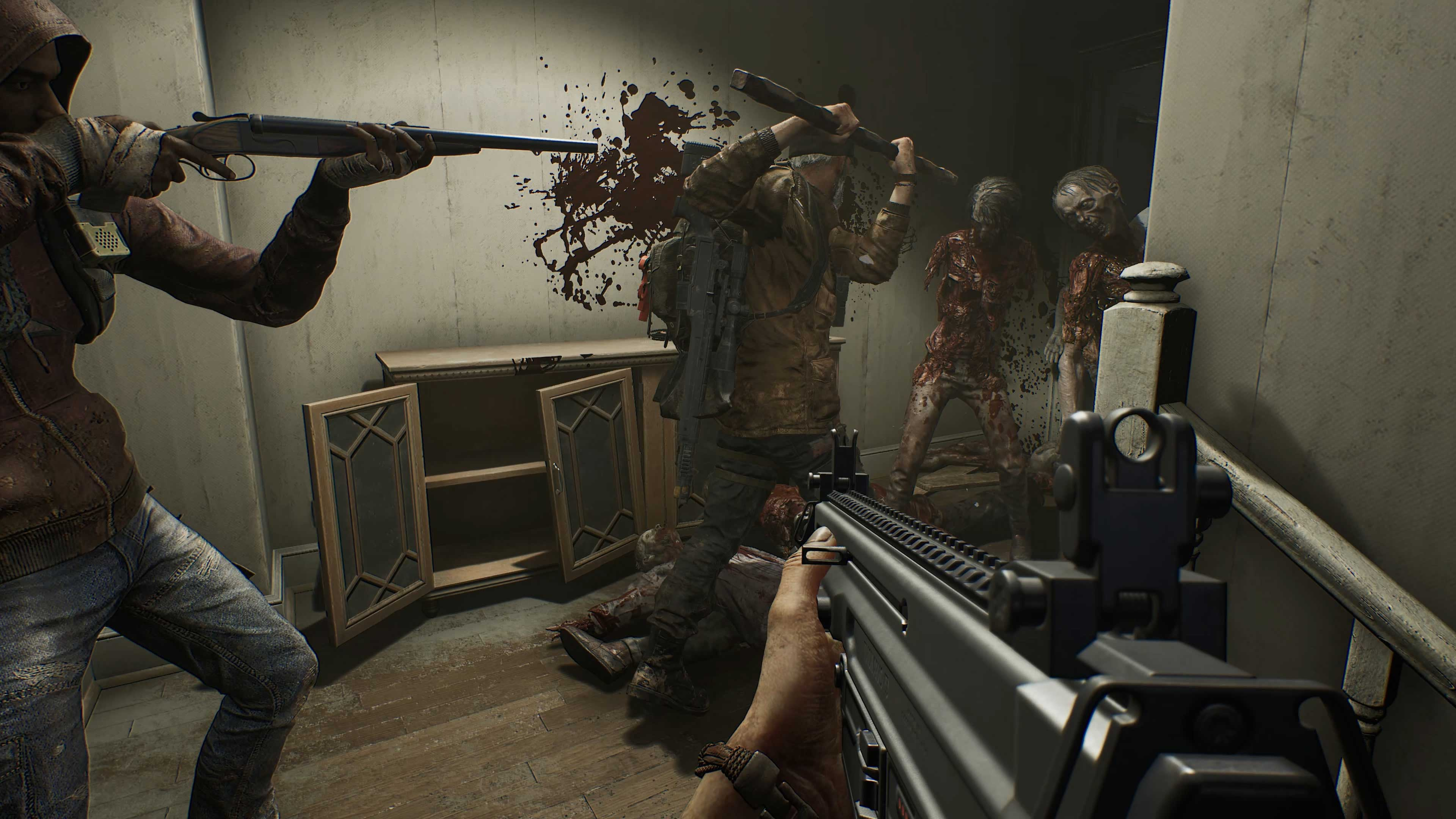 Overkill's The Walking Dead 4K Wallpaper ...