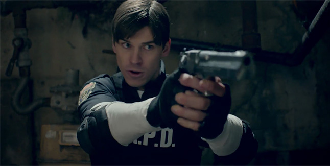 Live Action Resident Evil 2 Trailer Showcases Leon And Claire In
