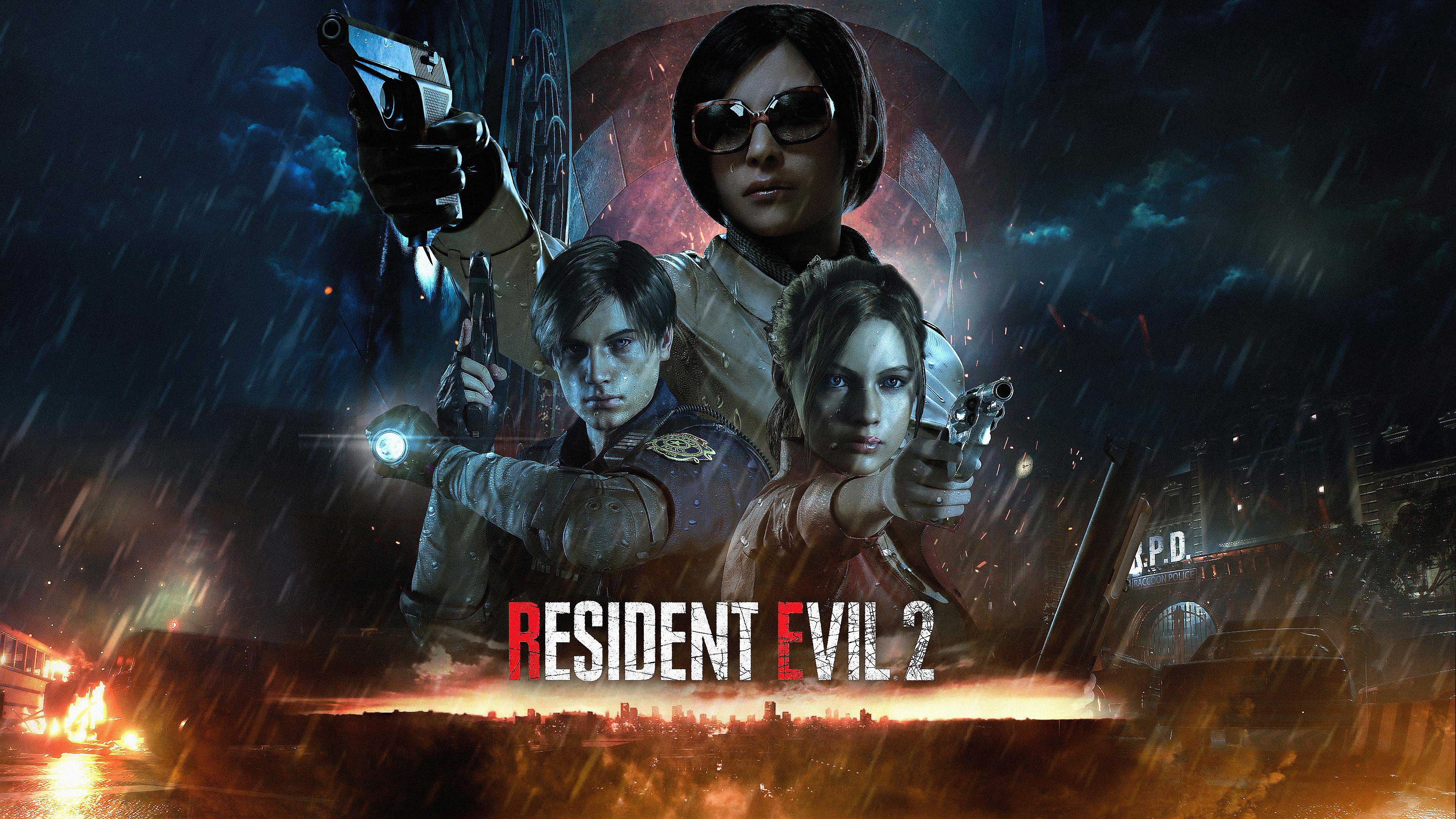 Resident Evil 2 Remake Wallpapers In Ultra HD