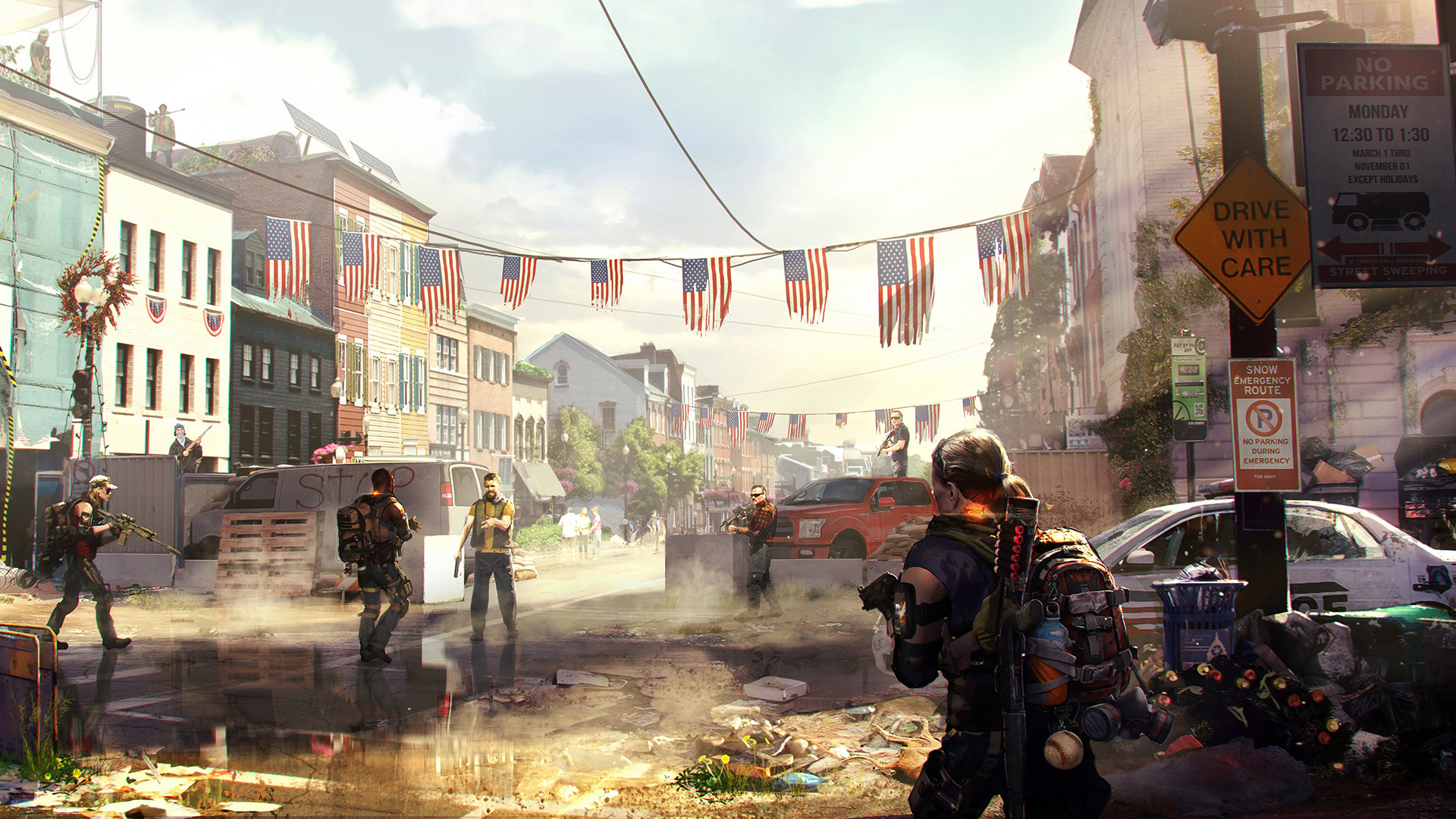 Tom clancy 39 s the division 2 wallpapers in ultra hd 4k for Div p