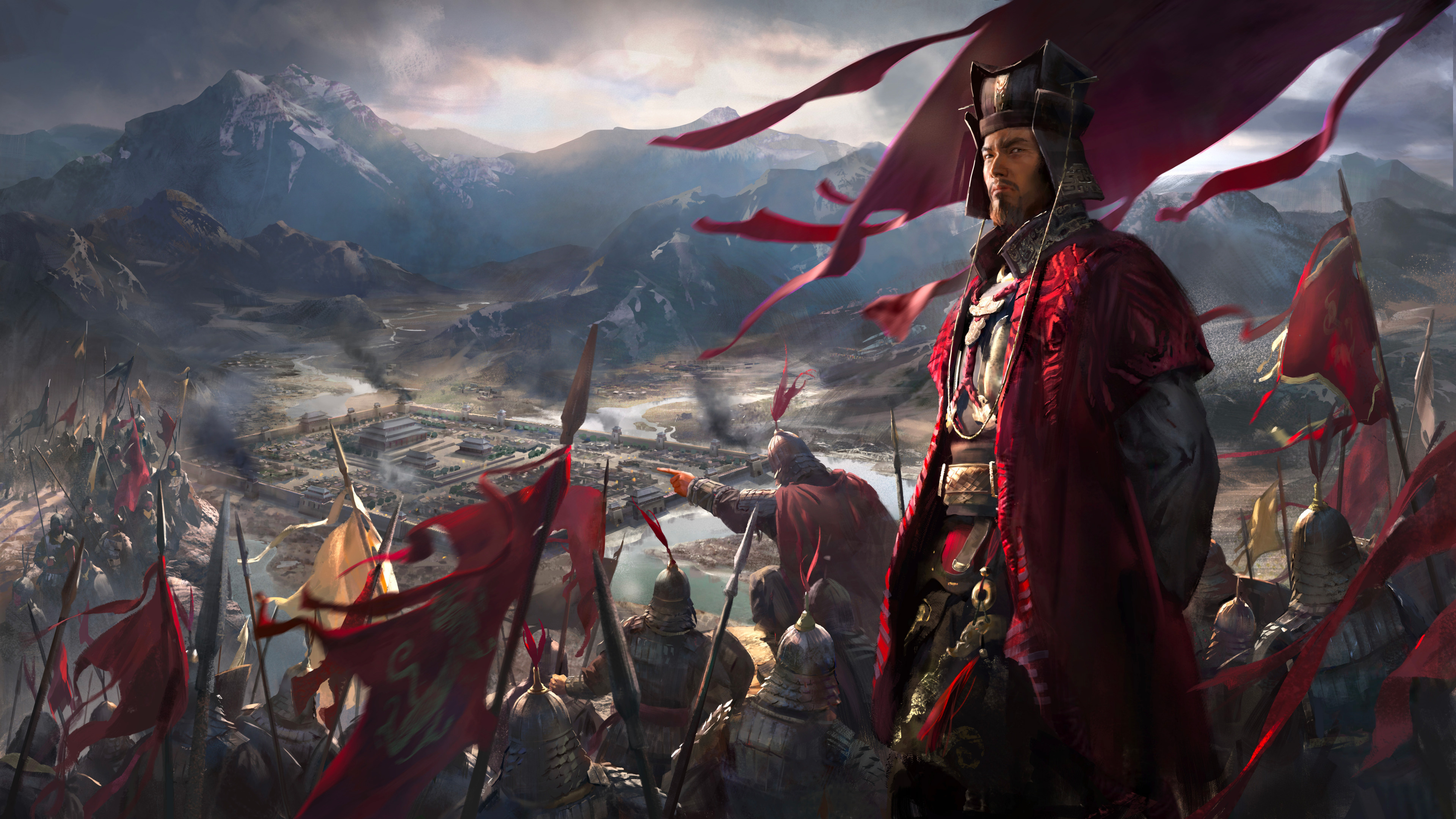 Total War Three Kingdoms Wallpapers In Ultra Hd 4k Gameranx