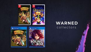 Warned Collectors Now Offering New Rare Physical Game Releases