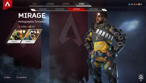 Apex Legends: How Long Does It Take To Unlock Mirage & Caustic Free? | F2P Guide
