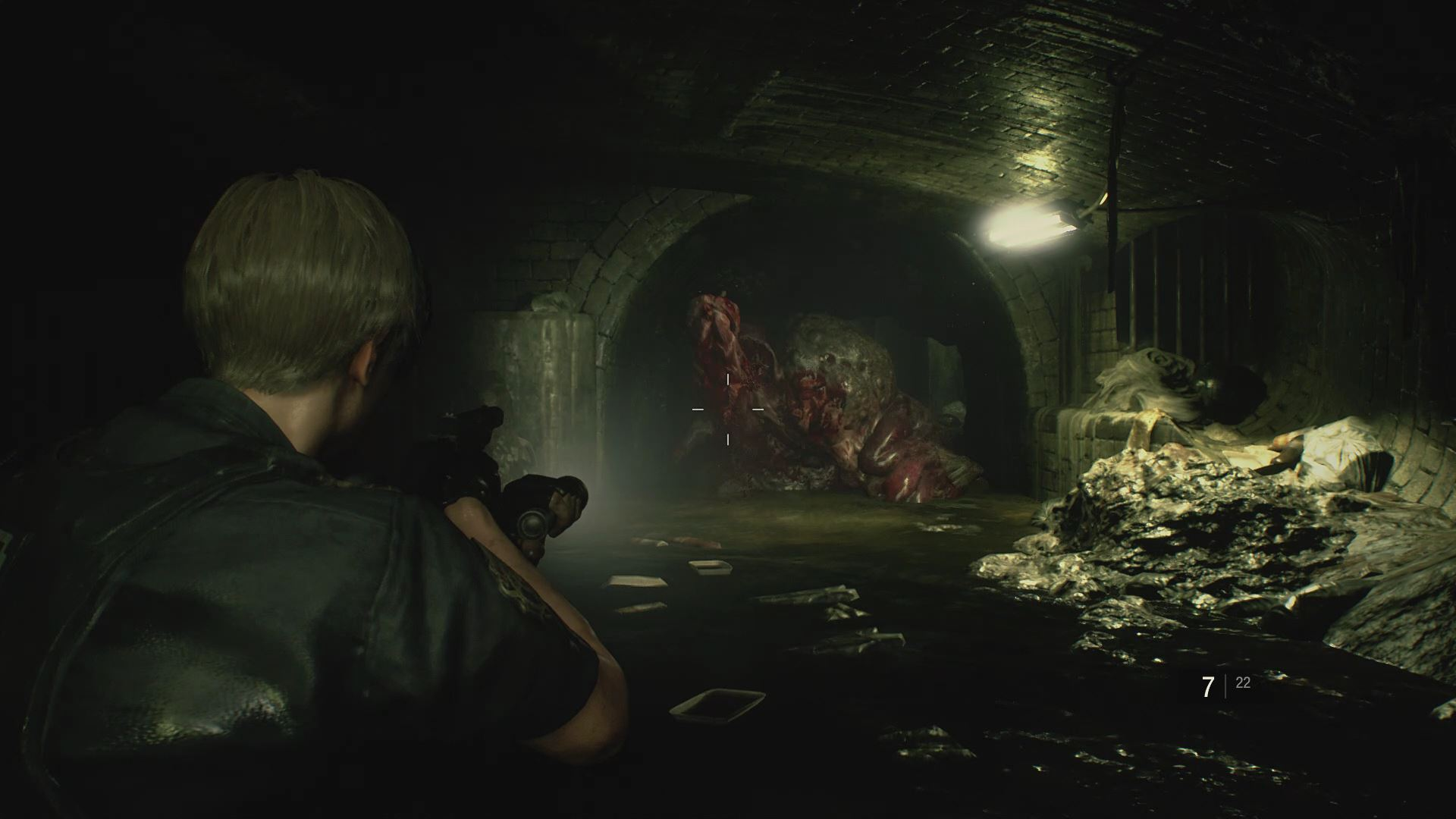 Resident Evil 2 Remake Leon A Scenario Walkthrough The Sewers