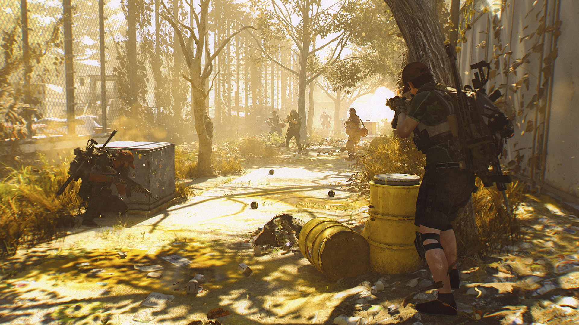 The Division 2: The Best Places To Grind For Fast End-Game