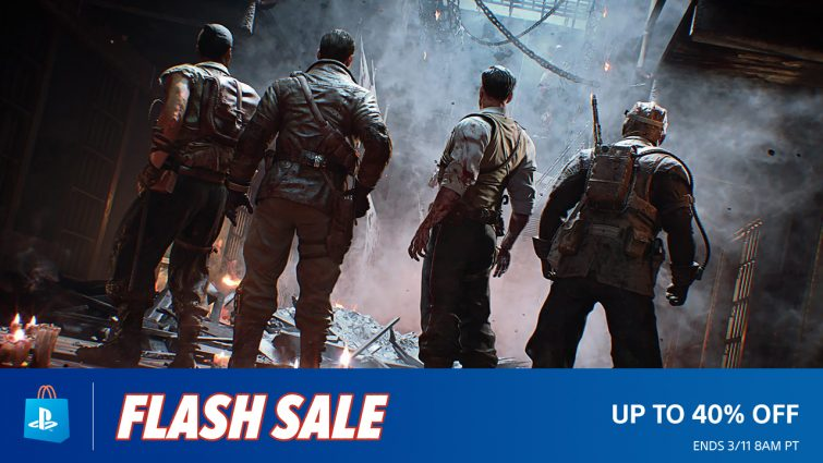 PSN Flash Sale Now Live Features Titles Such As Call of Duty: Black Ops 4, Hitman 2 and More
