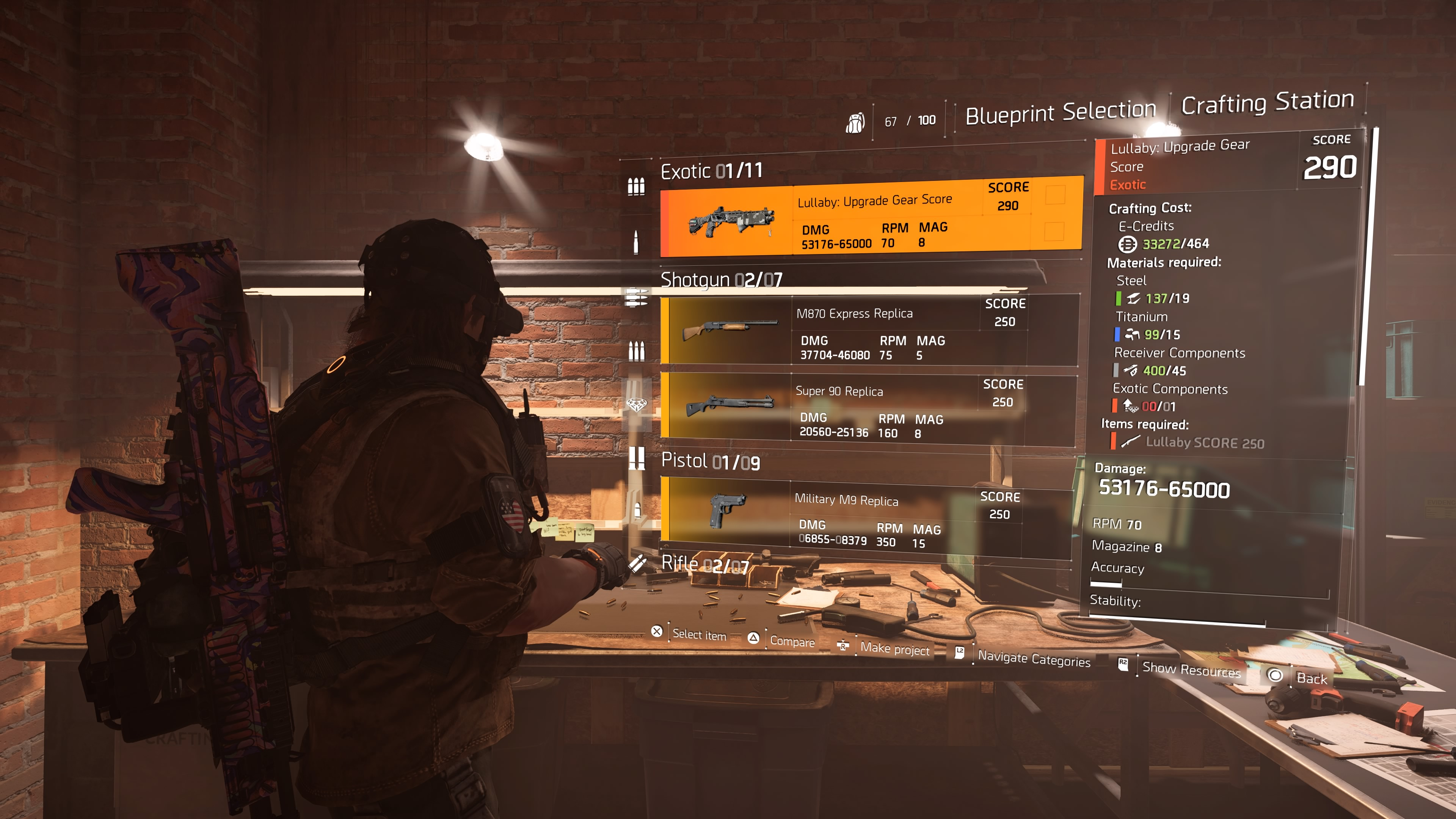 The Division 2: How To Fully Upgrade The Crafting Bench