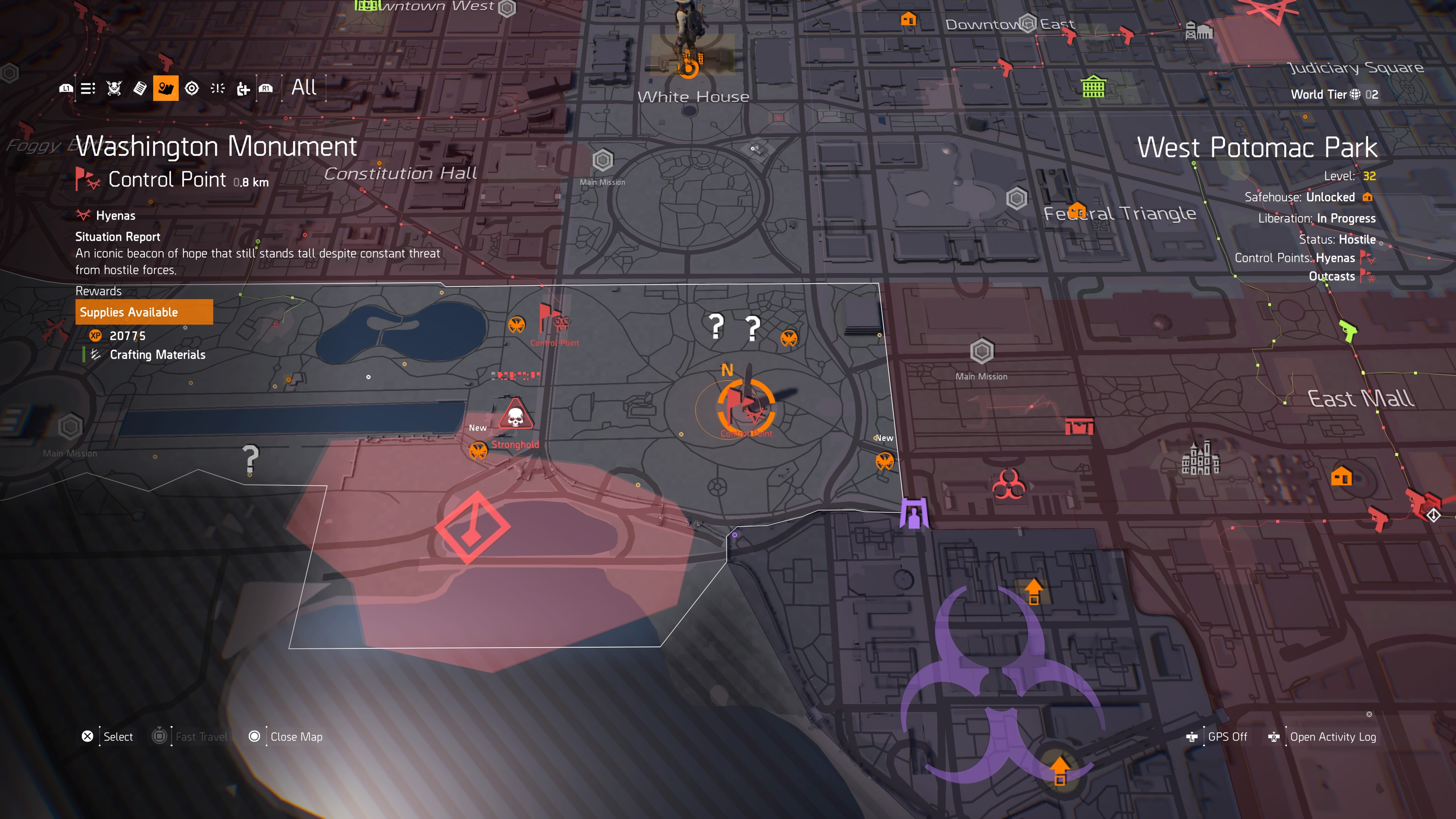 The Division 2: Secret Hunter Boss Locations | All 12 Masks Guide