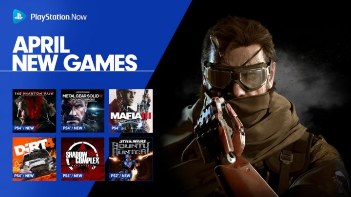 PS Now Adds 9 New Titles to Streaming Service, Metal Gear