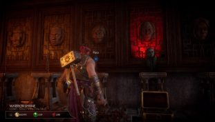 Mortal Kombat 11: How To Unlock Shang Tsung's Throne Room | Warrior Shrine Heads Puzzle Guide