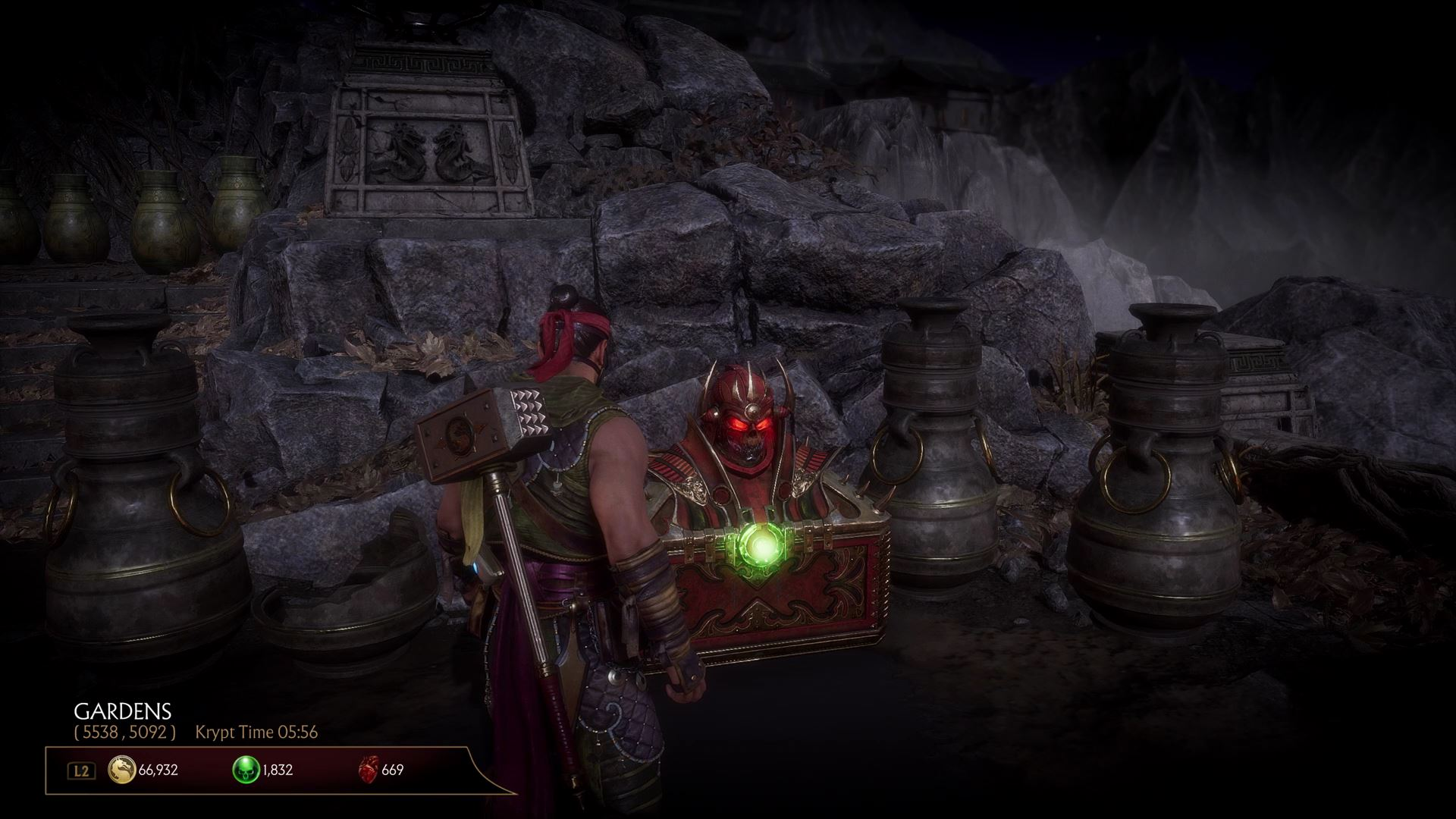 Mortal Kombat 11 Heart Chests Always Contain The Same Loot