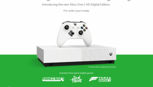 Microsoft Delivers The All Digital Xbox One S