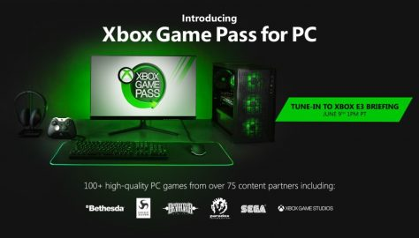 Microsoft Announces Xbox Game Pass for PC, More Details to be Shared at E3 2019